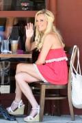 Бриджит Маркуардт, фото 245. Bridget Marquardt - Meeting a business associate at Kings Road Cafe in Studio City (July 28, 2011), foto 245