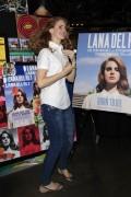 Lana Del Rey at Amoeba Music in LA 7th February x25