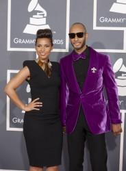 Алиша Киз (Алисия Кис), фото 3037. Alicia Keys 54th annual Grammy Awards - 12/02/2012 - Red Carpet, foto 3037