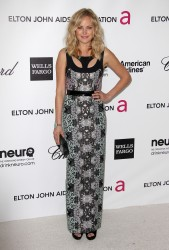 Malin Akerman @ 20th Annual Elton John AIDS Foundation Party February 26, 2012 HQ x 6