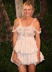 Мария Шарапова, фото 6396. Maria Sharapova 2012 Vanity Fair Oscar party - 26.2.2012, foto 6396
