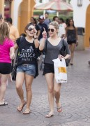 Эшли Бенсон, фото 375. Ashley Benson at Busch Gardens in Tampa Bay 03/03/12*with Vanessa Hudgens, foto 375,