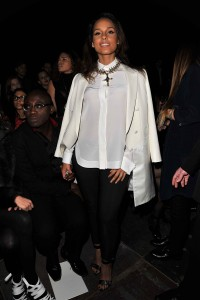 Алиша Киз (Алисия Кис), фото 3103. Alicia Keys Paris Fashion Week, 04.03.2012, foto 3103