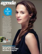 Alicia Vikander Total Film Magazine Scan (July 2012)