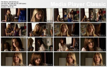 Leighton Meester in underwear - Gossip Girl S01E02 1080p